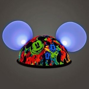 Mickey ears light up Disney parks glow with the show multicolour head hat cute